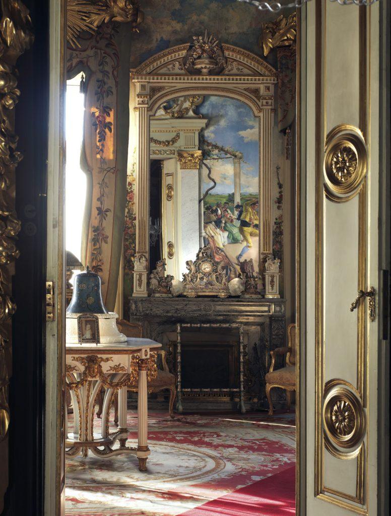 MUSEO CERRALBO: SALON CHAFLAN
